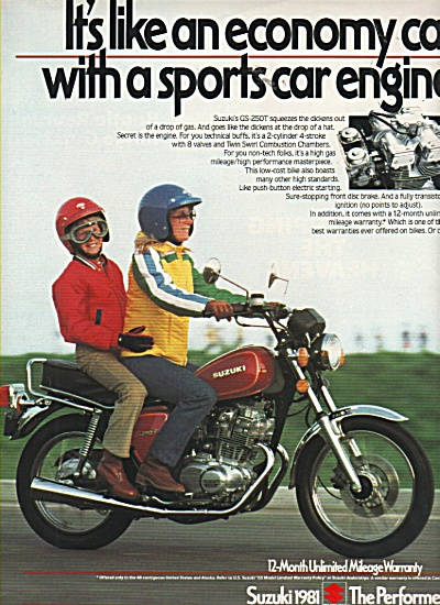 Suzuki 1981 - the performer ad 1981 (Image1)