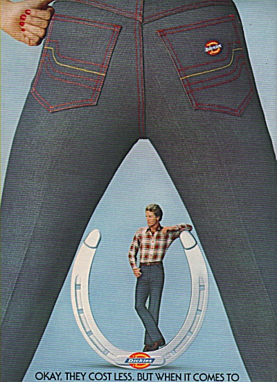 Dickies Clothes Ad 1981