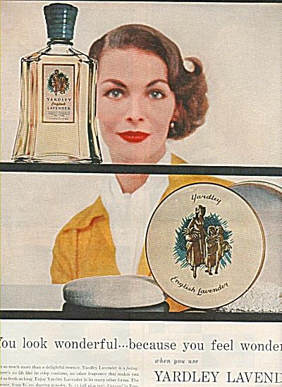 Yardley Lavender  ad 1949 (Image1)