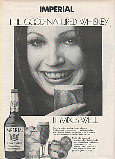 Imperial Hiram Walker whiskey ad 1972 (Image1)