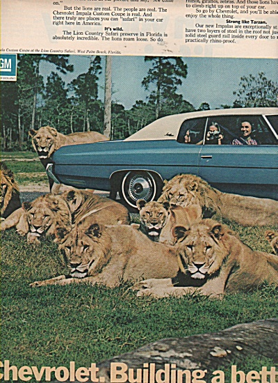 Chevrolet auto ad 1972 (Image1)