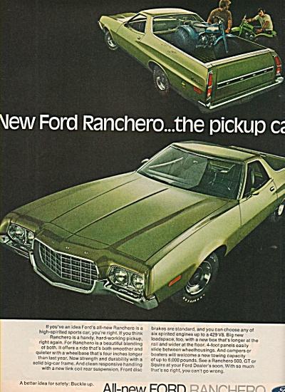 Ford Ranchero ad 1972 (Image1)