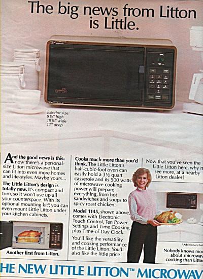 Litton microwave ad 1984 (Image1)