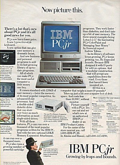IBM PC jr  ad 1984 (Image1)
