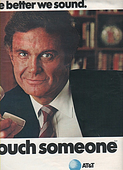A T & T  TELEPHONE SERVICE - -CLIFF ROBERTSON (Image1)