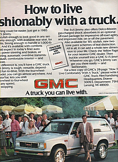 GMC trucks ad 1984 (Image1)