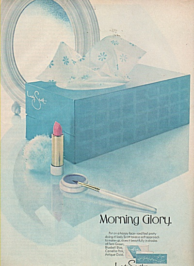 Morning Glory tissues - Lady Scott ad 1968 (Image1)