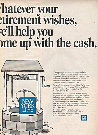 New York Life Insurance ad 1968 (Image1)
