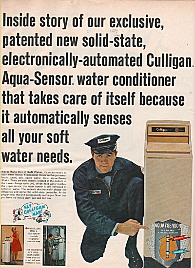 Culligan water conditioner ad 1968 (Image1)
