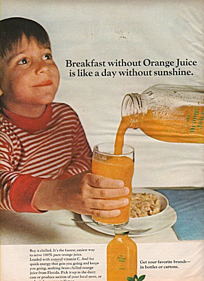 A Nancy Sasser suggestion - Orange juice ad 1968 (Image1)