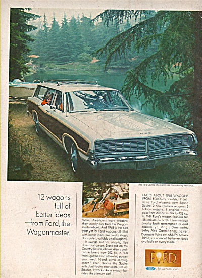 Ford Wagonmaster ad 1968 (Image1)