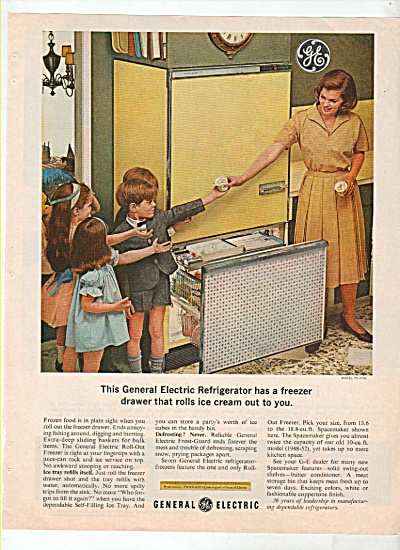 General electric refrigerator ad s1963 (Image1)