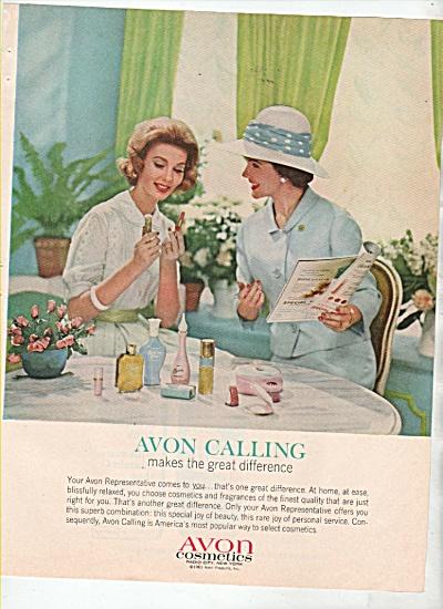 Avon calling ad 1963 (Image1)