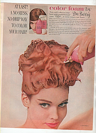 Color foam by DuBarry ad 1963 (Image1)