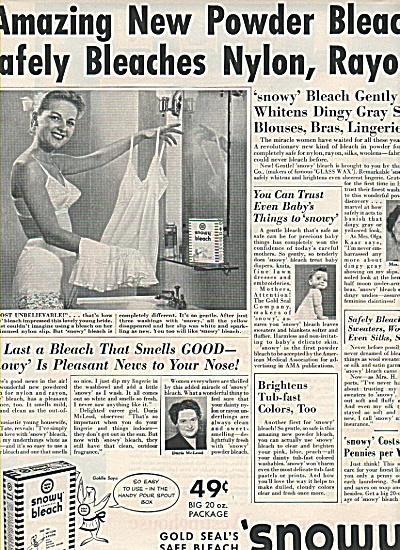 Snowy bleach ad 1951 (Image1)
