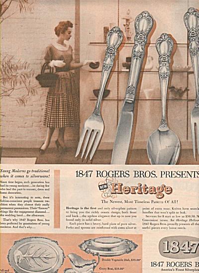 1847 Rogers Bros. silverware ad 1953 (Image1)