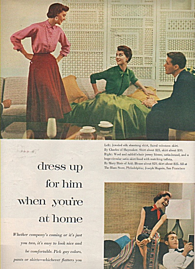 Dressing up for different occasions  - 1963 (Image1)