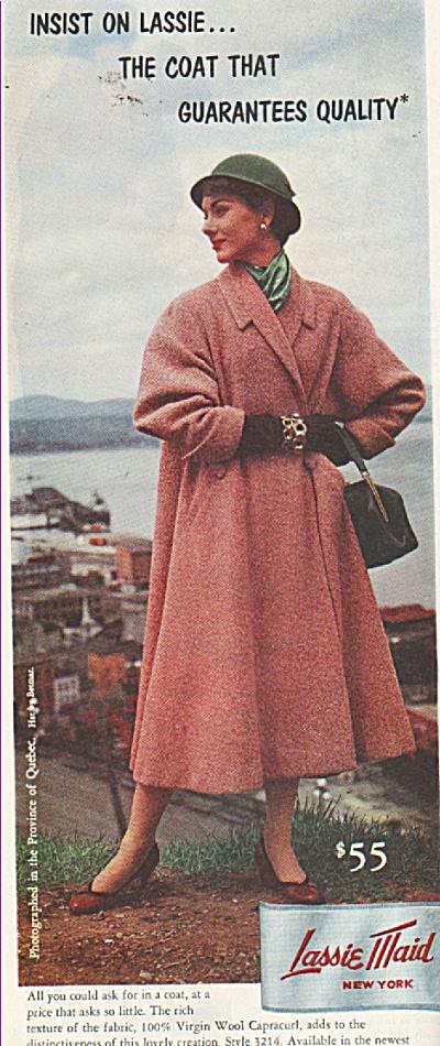 Lassie Maid coat ad 1953 (Image1)