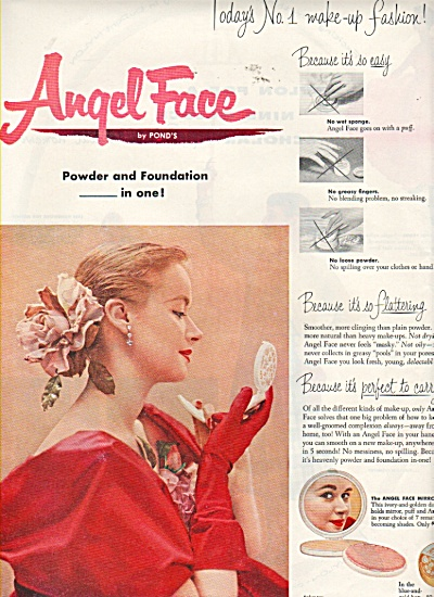 Angel Face by Pond's\  ad 1953 (Image1)