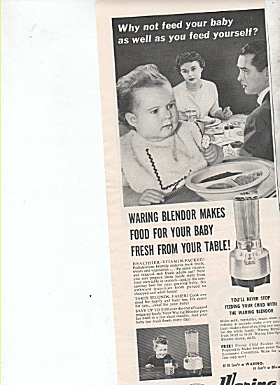 Waring blendor ad 1953 (Image1)