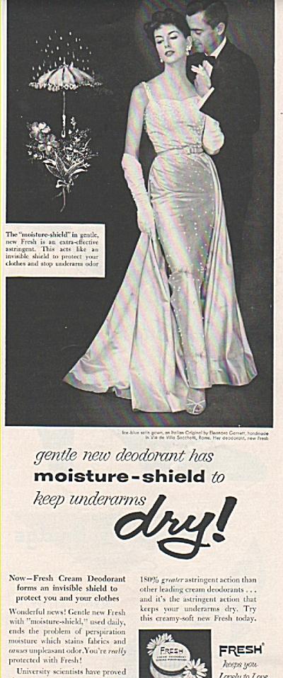 Fresh deodorant ad 1953 (Image1)