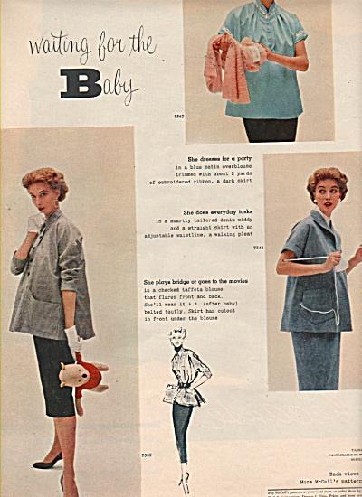 Maternity clothese - McCa.lls patterns 1953 (Image1)