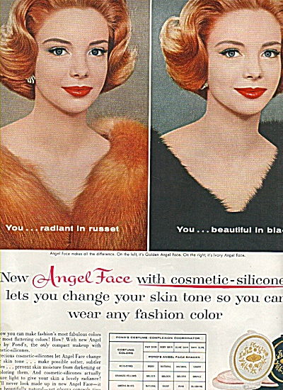 Angel Face by Pond's ad 1960 (Image1)