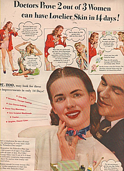 Palmolive soap ad 1946 (Image1)