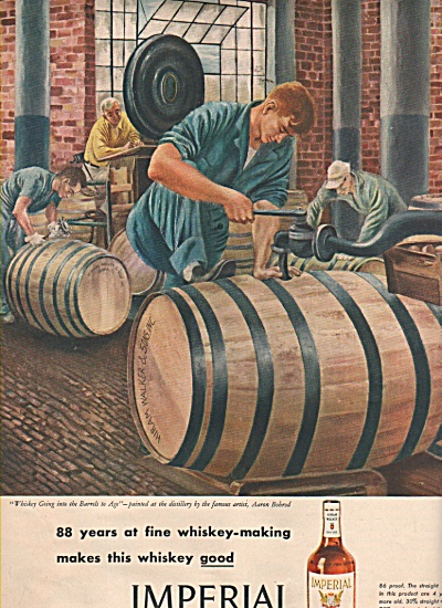 Imperial Hiram Walkers blended whiskey ad 1946 (Image1)