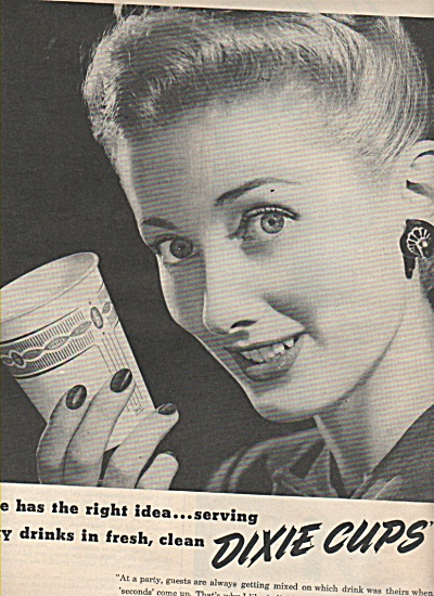 Dixie Cups ad 1946 (Image1)