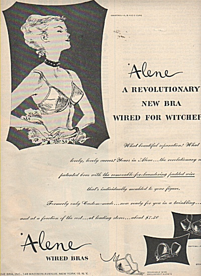 Alene wired bras ad 1946 (Image1)