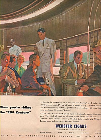 Webster cigars ad 1946 (Image1)
