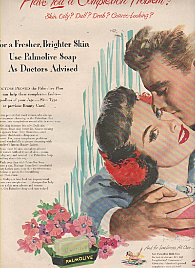 Palmolive soap ad 1949 (Image1)