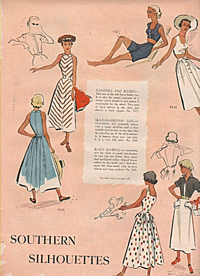 McCall's womens dresses  patterns 1949 (Image1)