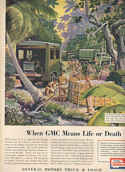 General Motors Truck & Coach ad 1943 (Image1)