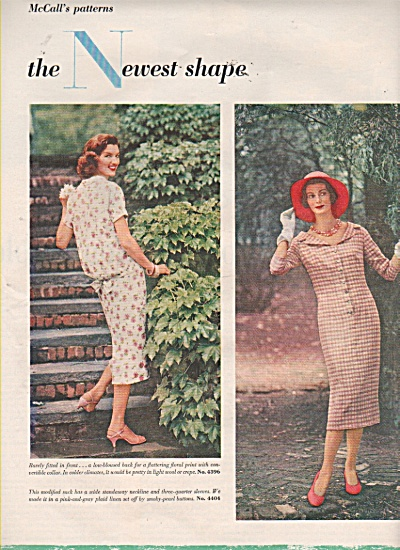 The newest shape - McCall patterns ads 1958 (Image1)