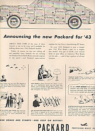 Packard motor company ad 1943 (Image1)