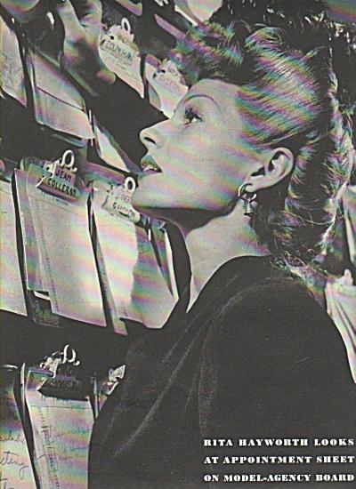 RITA HAYWORTH  story 1943 (Image1)