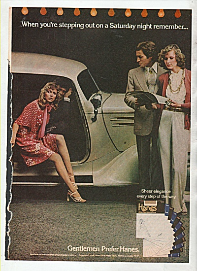 Hanes stockings ad 1974 (Image1)