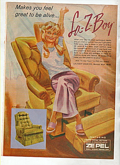 La-Z-Boy chairs ad 1974 (Image1)