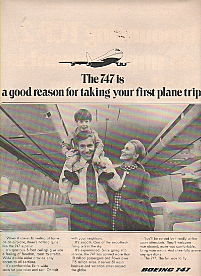 Boeing 747 Ad 1971