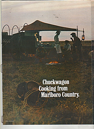 Marlboro country cooking ad 1971 (Image1)