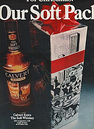 Calvert extra whiskey ad 1970 (Image1)
