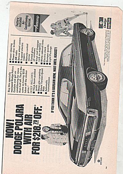 Dodge Polara auto ad 1970 (Image1)