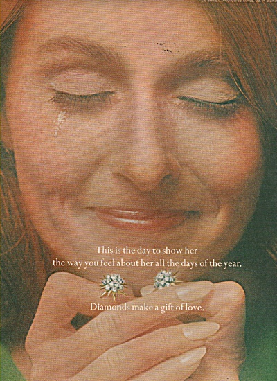 Diamonds - the gift of love ad 1970 (Image1)