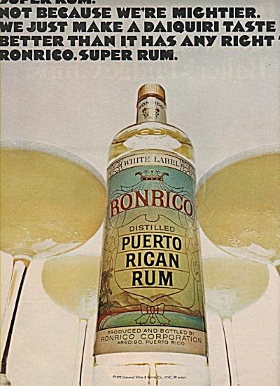 RonRico - puerto rican rum ad 1970 (Image1)