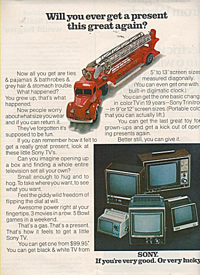 Sony television ad 1970 (Image1)