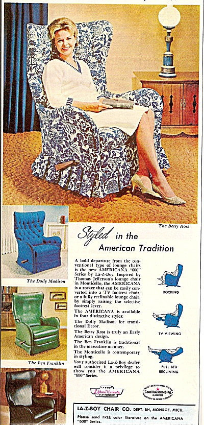 La-Z=boy chairs ad 1964 (Image1)