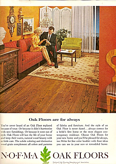 NOFMA  oak floors ad 1964 (Image1)
