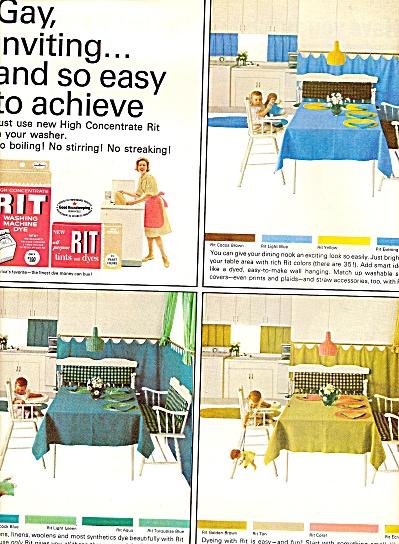 RIT washing machinde dye ad 1964 (Image1)